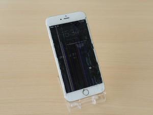 iPhone 6S Plusのガラス割れ液晶画面修理に岐阜市内よりご来店〜♪アイフォン修理のクイック岐阜
