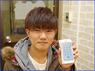 ☆電池残量がすぐ減るのでiPhone6のバッテリー交換修理にご来店~♪アイフォン修理のクイック岐阜