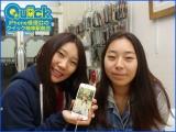 ☆映らなくなったiPhone7のアウトカメラ交換とガラス割れ修理に神奈川県よりご来店!アイフォン修理のクイック岐阜