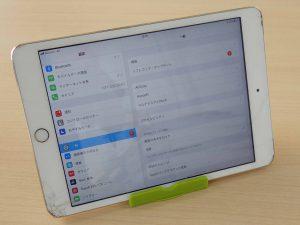 各務原市 iPad mini ガラス割れ アイパッド修理のクイック岐阜