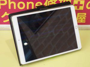 画面バキバキ 液晶が映らない iPad Pro10.5の液晶交換修理に一宮市よりご来店!iPad修理もクイック岐阜