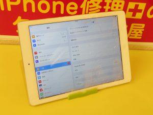 ガラスがバキバキ 画面割れ iPad Airのガラス割れ修理に滋賀県よりご来店!アイパッド修理もクイック岐阜