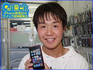 ☆瑞穂市 電源が入らないiPod Touch6 バッテリー交換修理 アイポッド修理のクイック岐阜