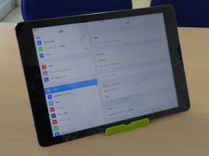 iPadAir1のガラス交換&バッテリー交換修理に岐阜市よりご来店!アイパッド修理もクイック岐阜
