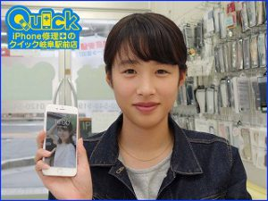 ☆岐阜市 お風呂で水没 iPhone6S 水没修理 アイフォン修理のクイック岐阜