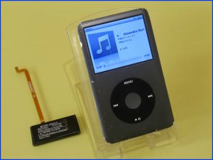各務原市 iPod classicのバッテリー交換修理 クラシック修理はクイック岐阜