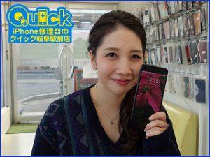 ☆iPhone7Plusのガラス交換修理に岐阜市よりご来店!アイフォン修理のクイック岐阜