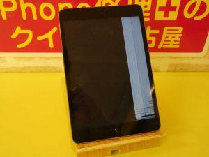 羽島市 iPad mini2 液晶画面割れ修理 アイパッド修理のクイック岐阜