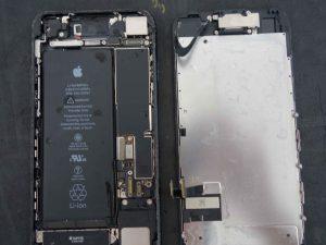iPhone7 水没端末復旧修理で関市からご来店 アイフォン修理のクイック岐阜