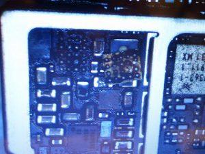 岐阜の同業者様 海で水没iPhone7 データ復旧基板修理 アイフォン修理のクイック岐阜