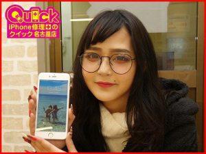 ☆iPhone6SPlusのガラス&バッテリー交換修理にご来店!アイフォン修理のクイック岐阜