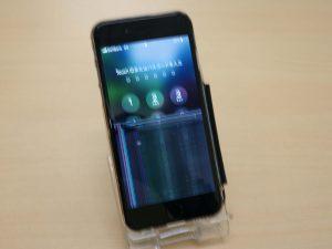 岐阜市 iPhone6S ガラス割れタッチ操作不可 アイフォン修理のクイック岐阜