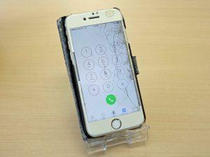 iPhone7のガラス割れ修理で岐阜市内からご来店!アイフォン修理のクイック岐阜