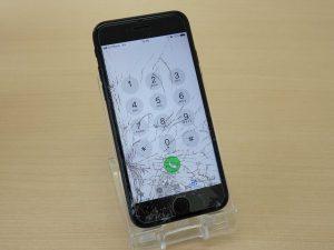 瑞穂市 iPhone7 ガラス割れ修理 アイフォン修理のクイック岐阜