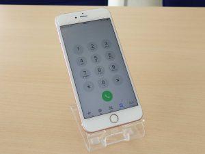iPhone6s Plusのガラス交換修理で岐阜市内からご来店!アイフォン修理のクイック岐阜