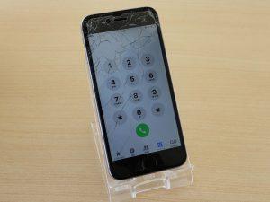 iPhone6のガラス&バッテリー交換修理に郡上市よりご来店!アイフォン修理のクイック岐阜
