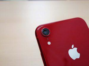 各務原市 iPhoneXR カメラレンズのヒビ割れ修理 アイフォン修理のクイック岐阜