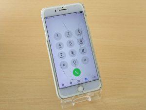 各務原市 iPhone 7Plus ガラス割れ修理バッテリー半額交換 アイフォン修理のクイック岐阜