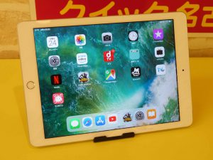 iPad5のガラス交換修理に各務原市よりご来店!アイフォン修理のクイック岐阜