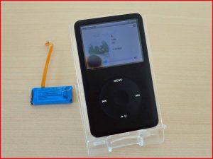 iPod classicのバッテリー交換修理に大垣市よりご来店!アイポッド修理もクイック岐阜