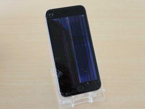 iPhone6Sのガラス割れ修理に各務原市からご来店!アイフォン修理のクイック岐阜