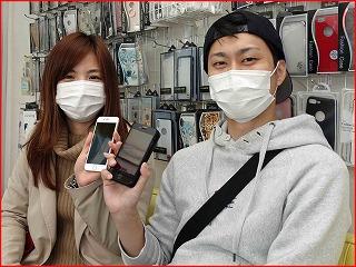 ☆iPhone8の液晶交換修理に瑞穂市よりご来店!アイフォン修理のクイック岐阜