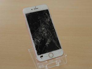 iPhone7の液晶とバッテリー交換修理で岐阜市内からご来店!アイフォン修理のクイック岐阜