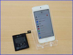 本巣市 iPad touch6 バッテリー交換修理 アイポッド修理のクイック岐阜