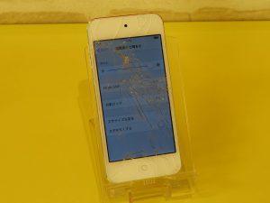 iPod Touch6のガラス割れ修理に郡上市よりご来店!アイポッド修理もクイック岐阜