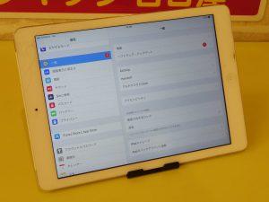 iPad Airのガラス交換修理で羽島市からご来店!アイパッド修理のクイック岐阜