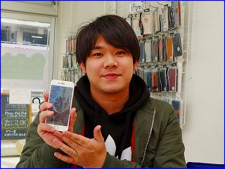 ☆iPhone8が突然電源が入らなくなった!!!岐阜市からご来店!アイフォン修理のクイック岐阜