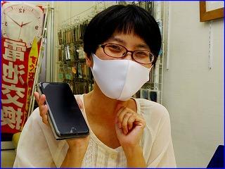 ☆iPhone7Plusのバッテリー交換修理に岐阜市内よりご来店!アイフォン修理のクイック岐阜