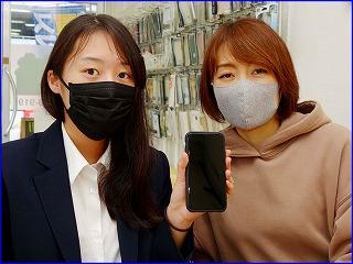 ☆iPhone11の液晶交換修理に岐阜市内よりご来店!アイフォン修理のクイック岐阜