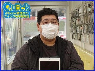 ☆iPad mini2の液晶交換修理に岐阜市内よりご来店!アイパッド修理もクイック岐阜