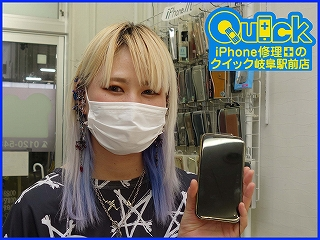 ☆岐阜市よりiPhone 11の画面修理にご来店~♪アイフォン修理のクイック岐阜